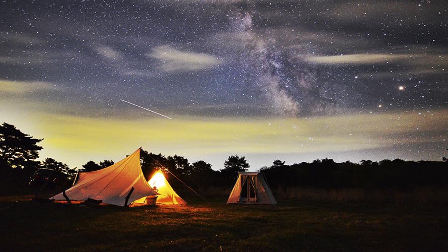 星降る高原キャンプ