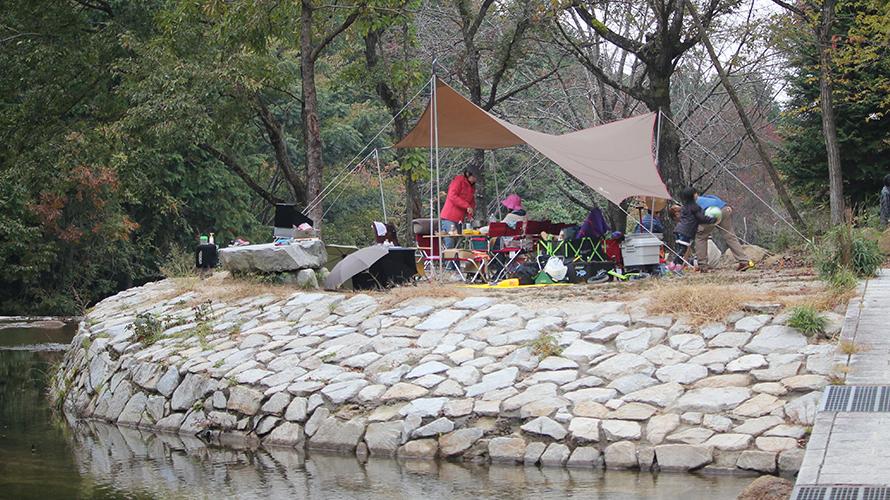 滋賀 桐生 川遊び ( ディキャンプ )