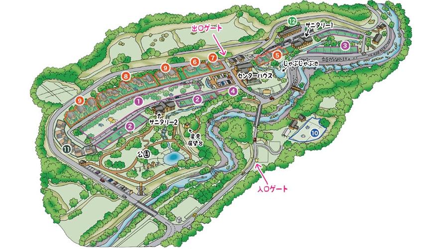 青川峡キャンピングパーク
