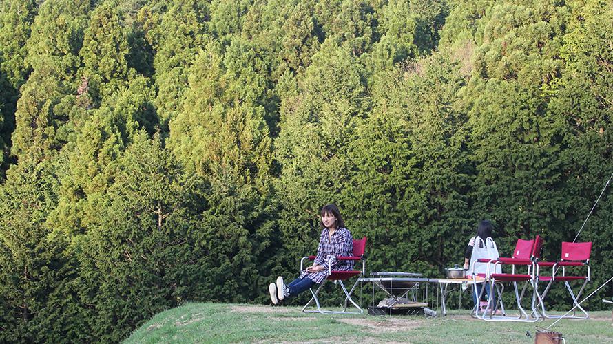 兵庫県養父市 若杉高原おおやキャンプ場 「絶景サイト」 キャンプ レポート