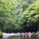 京都府京都市 清滝川 川遊び ( ディキャンプ ) レポート