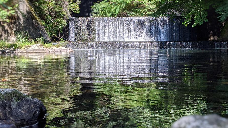 滋賀県甲賀市土山 うぐい川公園 川遊び ( ディキャンプ )